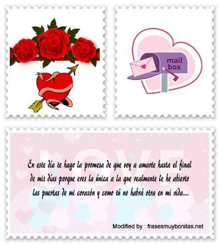 Buscar los mejores mensajes románticos para novios