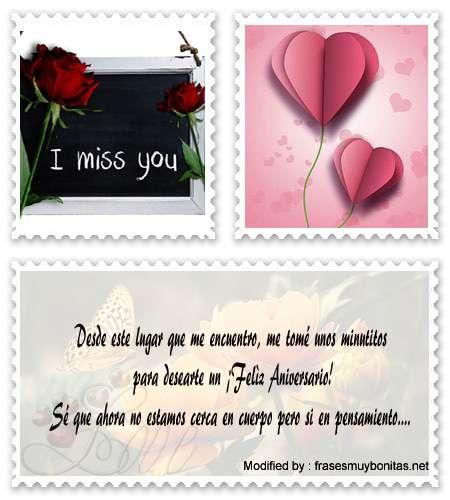 Tiernos mensajes de amor para compartir en Facebook por aniversario aniversario de novios para Whatsapp, bonitas tarjetas románticas de aniversario de novios para descargar, descargar mensajes románticos de aniversario de novios