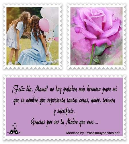Mensajes de amor para el día de la Madre para Facebook