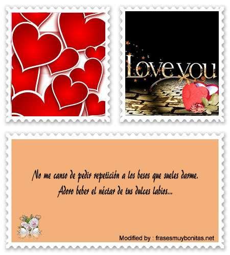 Mensajes cortos de amor para mandar a mi novio por Whatsapp