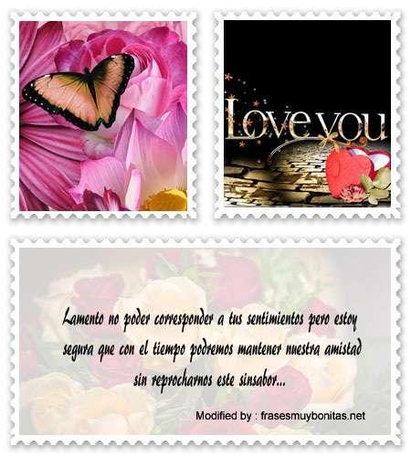 frases para no aceptar una propuesta de amor