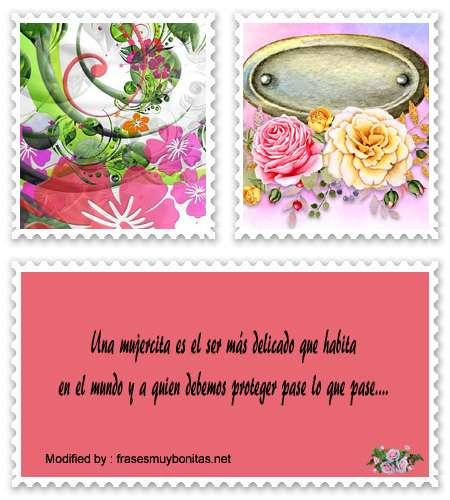 dedicatorias bonitas para las mujeres
