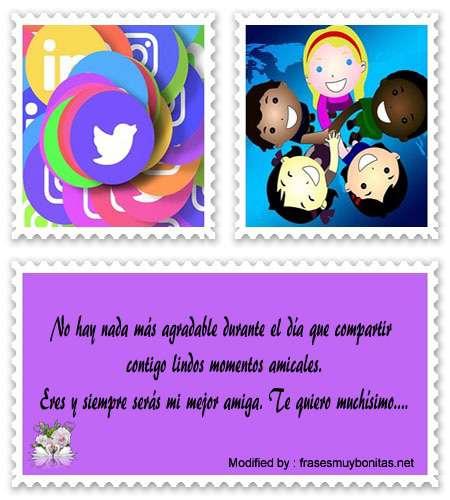 las mejores frases y tarjetas de amistad para compartir por Messenger