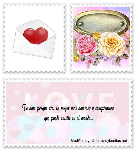 postales con palabras bonitas para una mujer