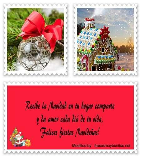 saludos ymensajes para Navidad para Messenger