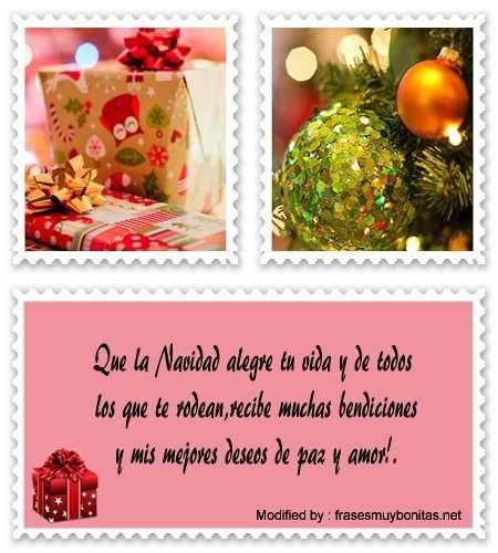 buscar saludos ymensajes para Navidad