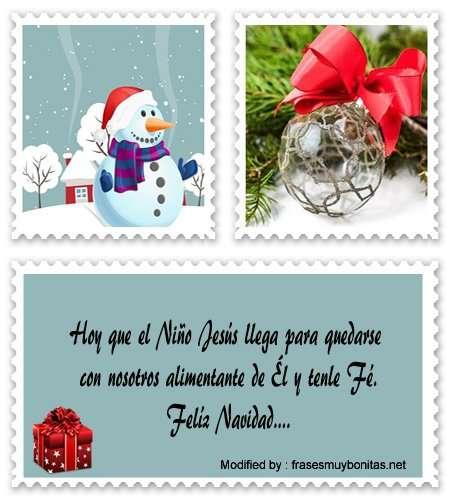 Saludos ymensajes para Navidad para Facebook