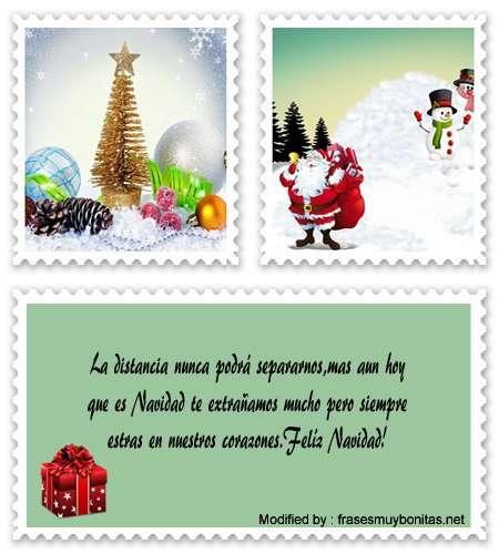 bellos mensajes de Navidad a la distancia