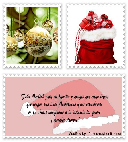 enviar mensajes de Navidad a la distancia