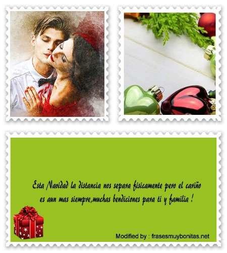 mensajes de Navidad a la distancia por Messenger