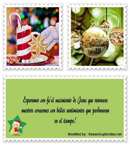 tarjetas con mensajes cristianas para Navidad