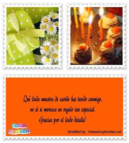 tarjetas con frases para agradecer un presente