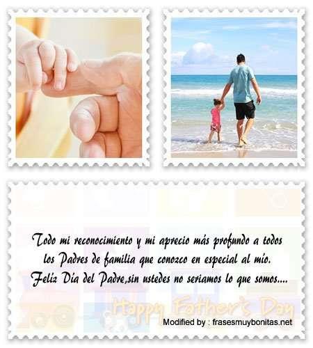 mensajes por el Día de los Padres