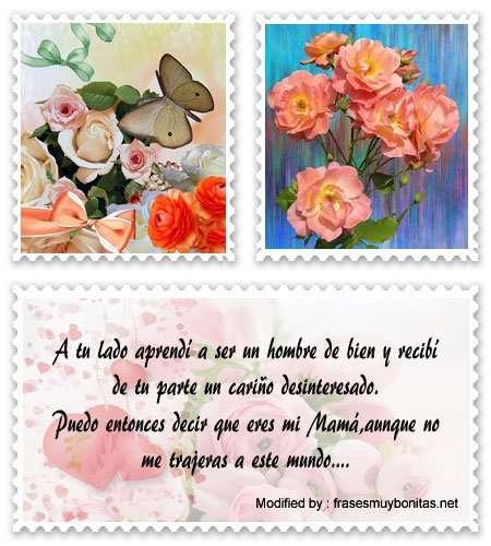 tarjetas con mensajes de amor para Mamá