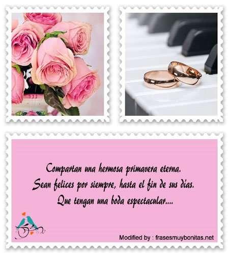 tiernas frases para los recién casados