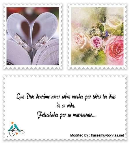 bonitas frases para los recién casados